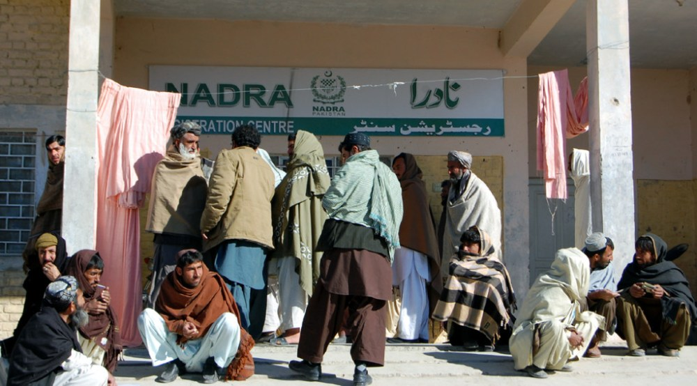 National ID Card, CNIC, Local Pak-Afghan border town