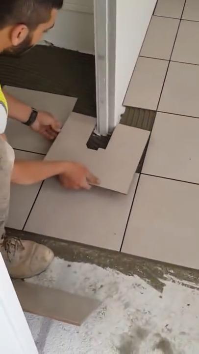 mesure pour un cadre de porte