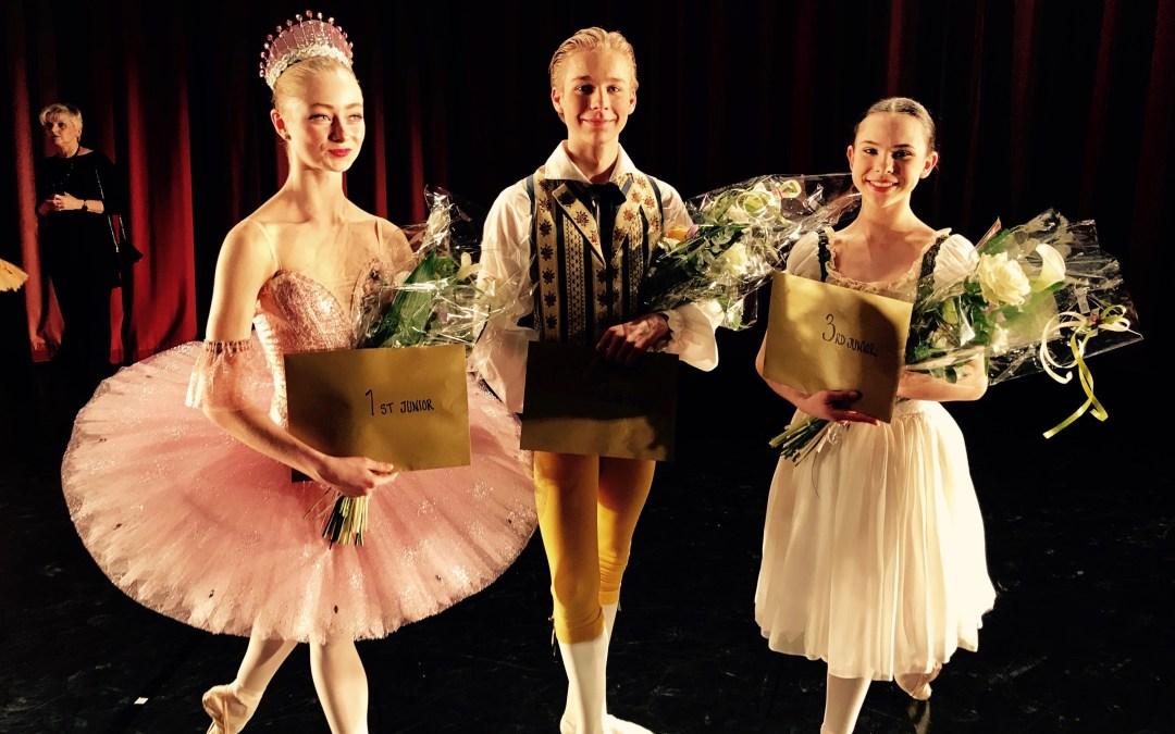 Svenska Balettskolan's Mattheus Bäckström tog silver i Baltic Nordic Ballet Competition 2017
