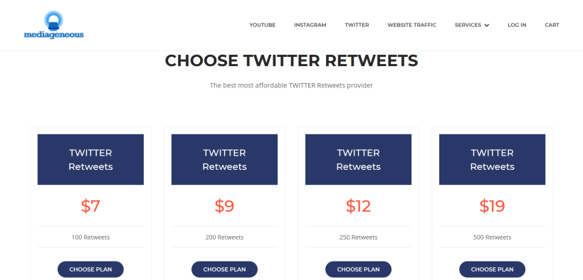 Buy twitter retweets for your tweet.