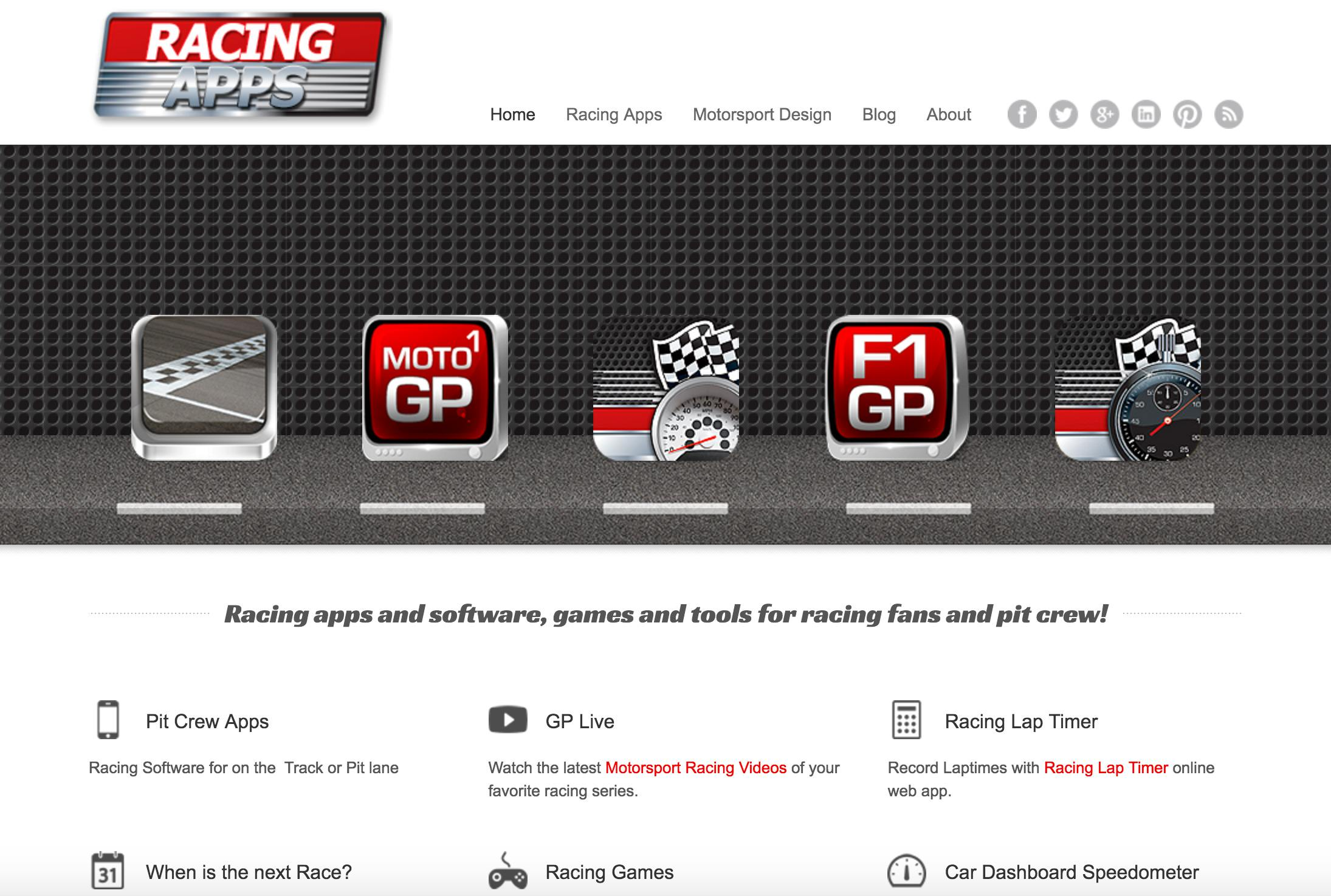 Racing Apps Voor Motorsport Fans  Mediageni