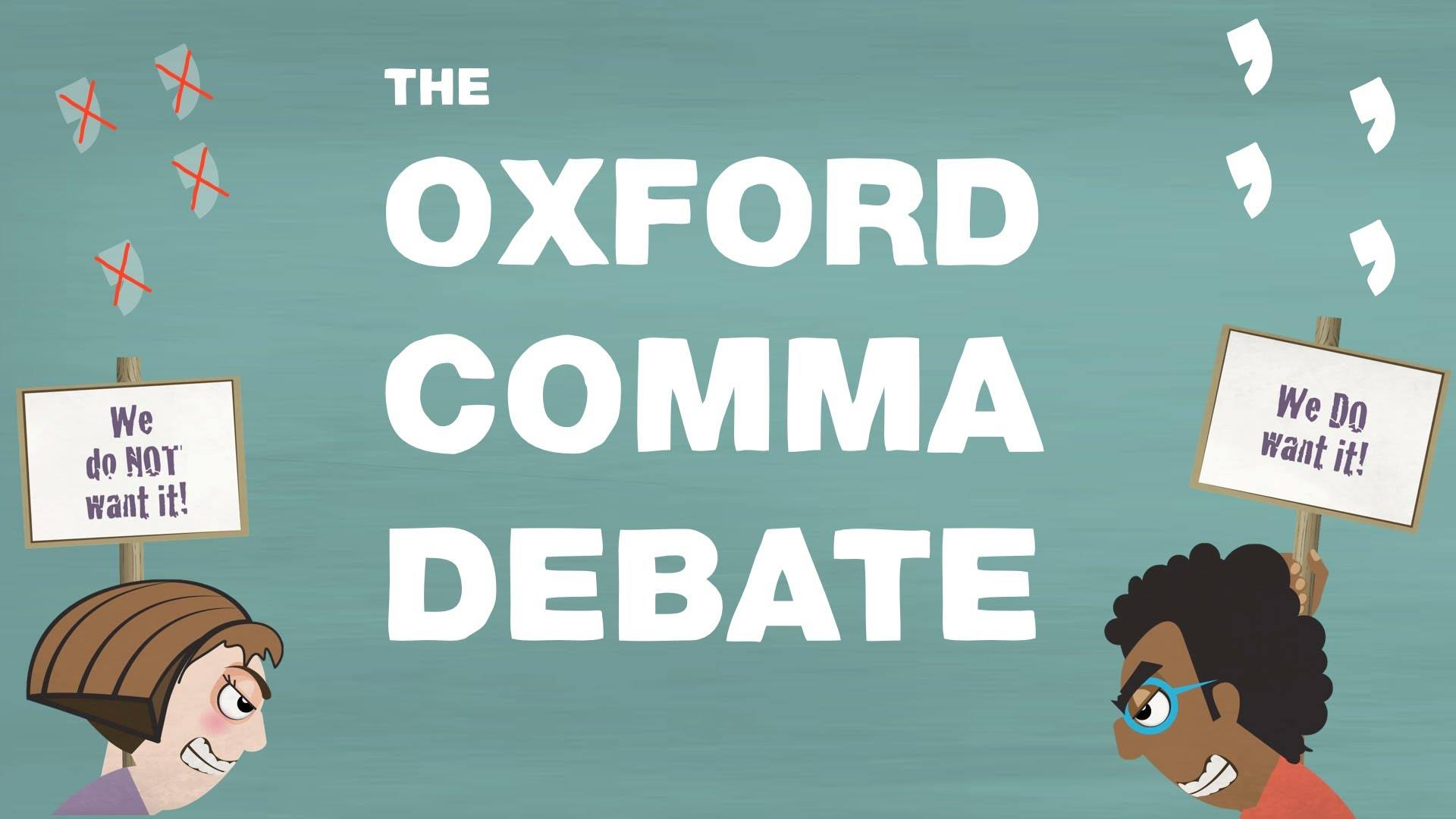 Grammar Happy The Oxford Comma Mediahq