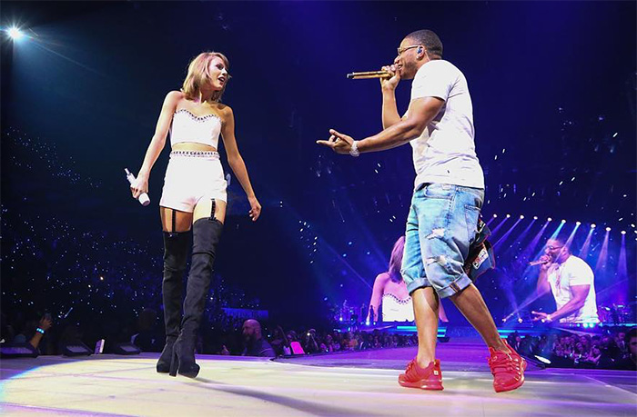 Taylor Swift and Nelly's Spontaneous Duet