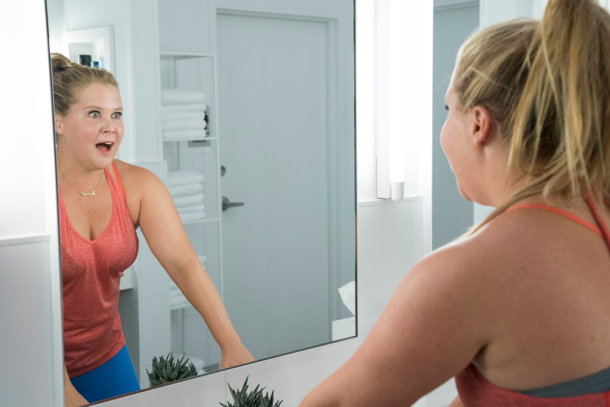 Amy Schumer Has a Positive Reflection in 'I Feel Pretty Movie'