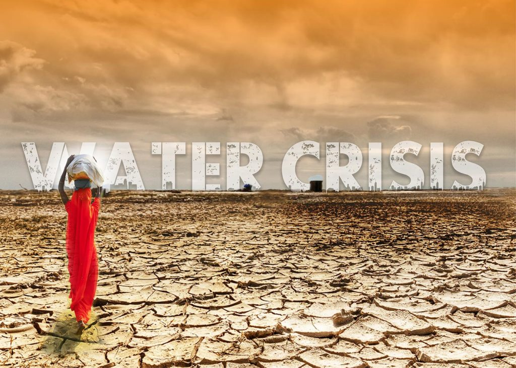 Women are not the only ones who suffer. Water Crisis Media India Group