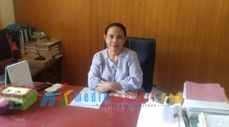 Ketua Jurusan Jurnalistik Universitas Halu Oleo, Marsia Sumule G