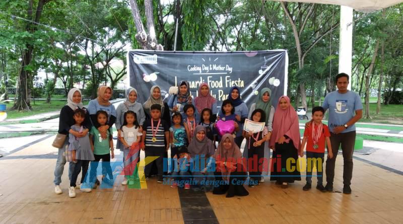 Suasana perayaan Cooking dan Mother Day oleh Sekolah Lazuardi Ibnu Sina Kendari. ( Foto : Rahmat R)