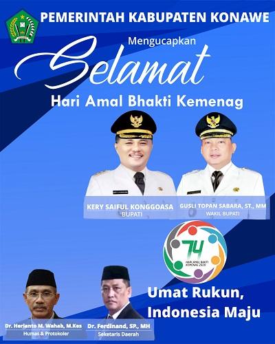 iklan kabupaten konawe HAB