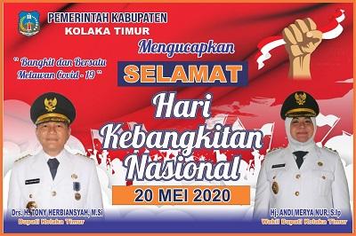 Iklan koltim ucapan Kebangkitan Nasional