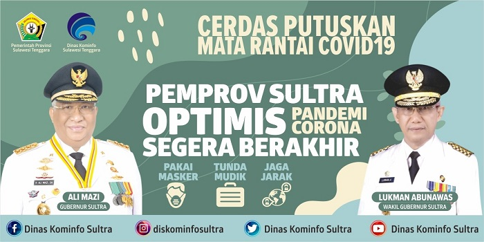 iklan PEMPROV OPTIMIS COVID 19