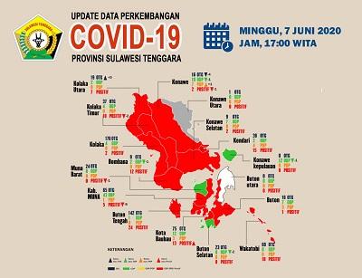 Data Perkembangan Covid 19 7 Juni