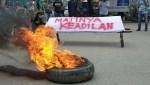 Demonstrasi di Kolaka Utara