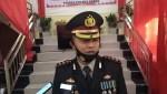 AKBP I Wayan Riko Setiawan, S.IK Kapolres Kolaka Utara ,saat diwawancarai (foto : Pendi)