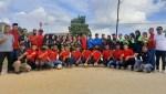 Foto Bersama RAG-SS dan Para pemain Volly Ball