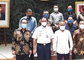 Pertemuan Pengurus Pusat Persatuan Wartawan Indonesia (PWI Pusat)