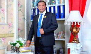 Tampak Ketua Fraksi Demokrat DPRD Muna, Awal Jaya Bolombo (Foto: Ist)