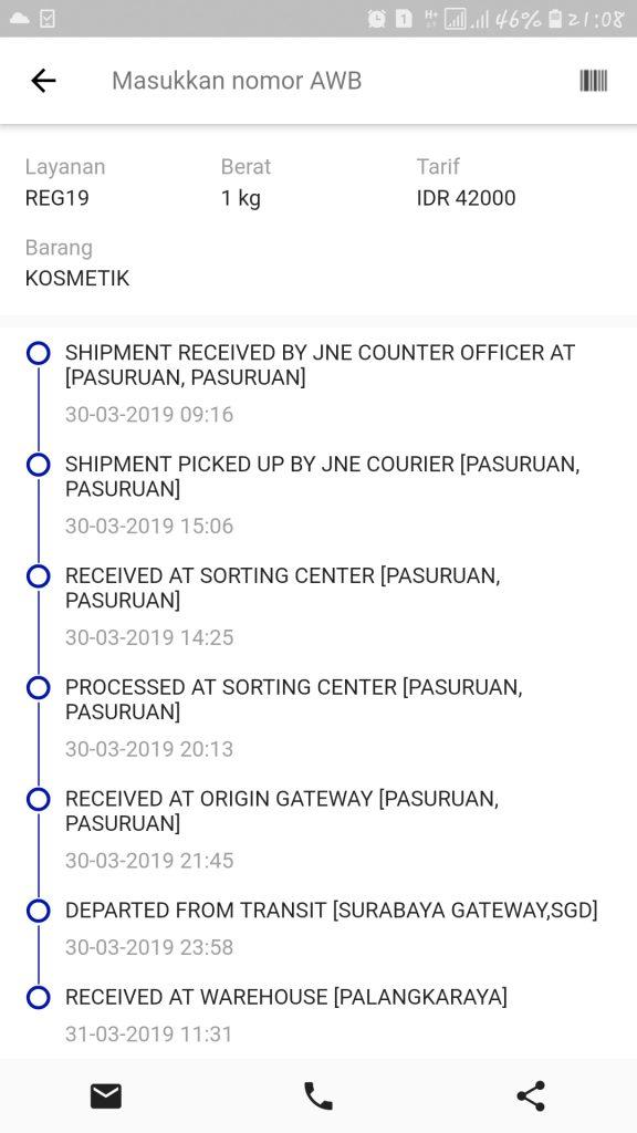 Arti Received At Origin Gateway : received, origin, gateway, Barang, Masih, Warehouse, BARANG