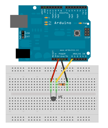 ntc with arduino