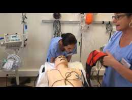 Exercice de prise en charge d'un infarctus par simulation