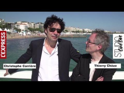 """Cannes: """"Une grande chance de prix d'interprétation pour Vincent Lindon"""" avec La Loi du marché"""
