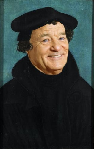 Дизайнер добавил в знаменитые портреты Билла Мюррея. Вышло так хорошо, что стало лучше оригинала, решили люди