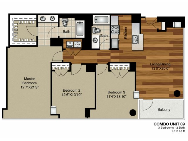 3 Bed 2 Bath Apartment In Chicago Il K2 Apartments