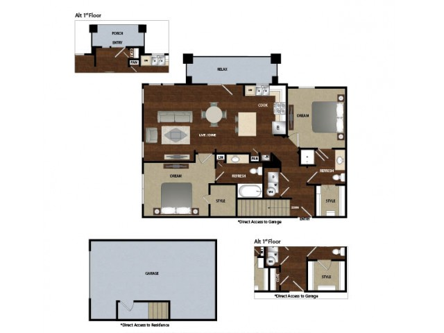 Apartments With Attached Garages In Dallas Tx