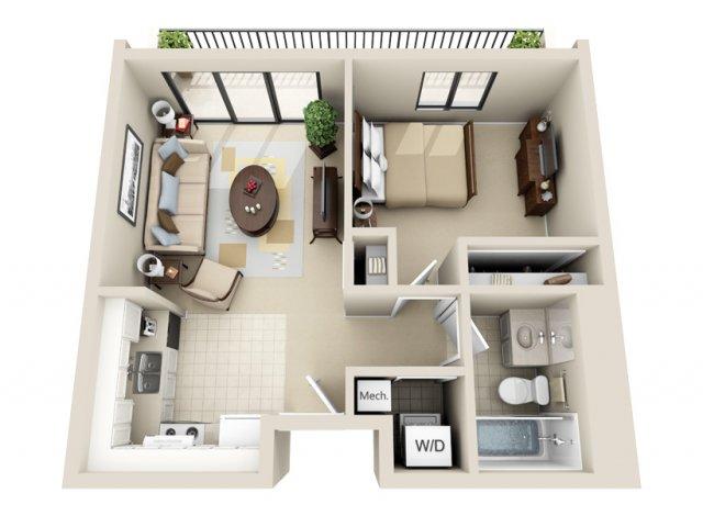 1 Bed 1 Bath Apartment In GRAND RAPIDS MI Viewpointe