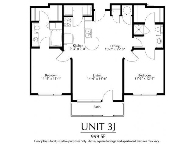 2 Bed / 1.75 Bath Apartment In Denver CO