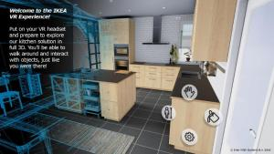 Virtual Reality App von IKEA (Quelle: IKEA)