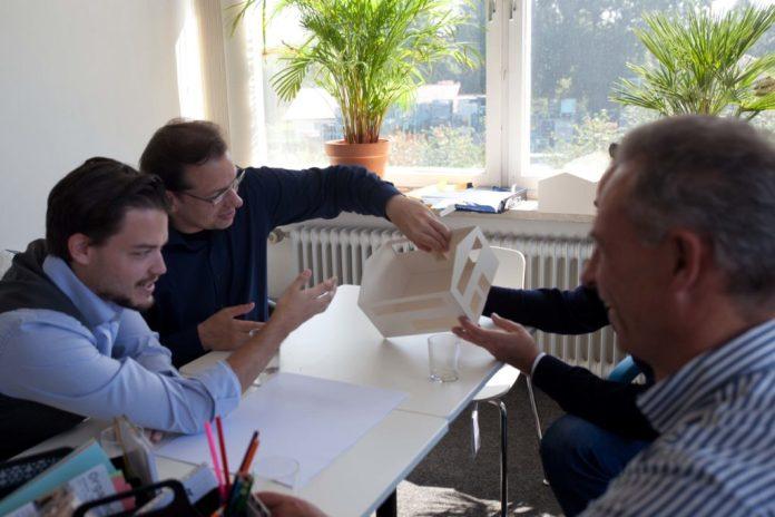 Alexander Pinker beim Architektur Workshop von Silicon Vilstal