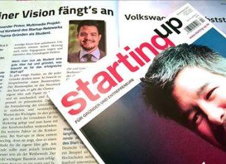 """Alexander Pinker - Interview Startup Magazin """"StartingUp"""""""