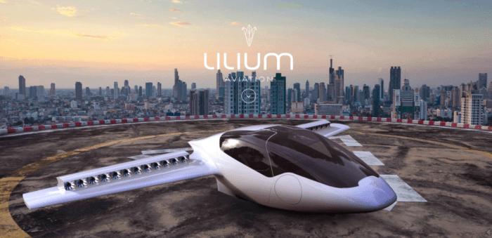 Lilium Aviation - VTOL Jet