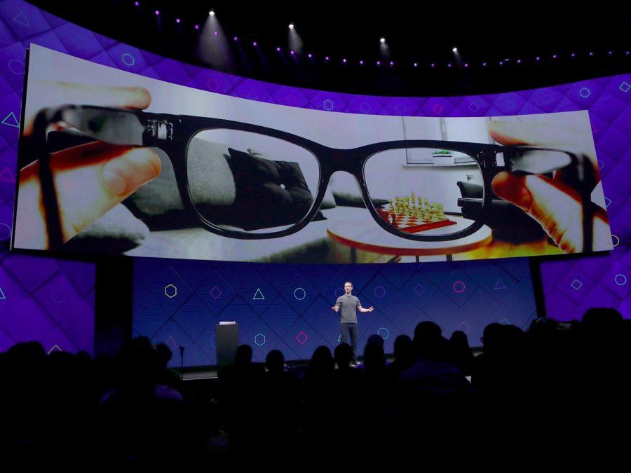 Facebook Smarglasses - Mark Zuckerberg
