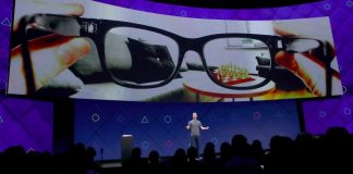 Facebook Smarglasses - Mark Zuckerberg
