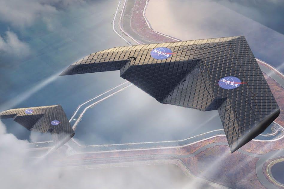 Morphing-Flügel von MIT und NASA