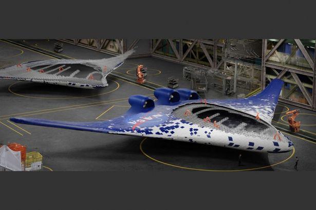 Morphing Flügel von MIT und NASA (Quelle: NASA)