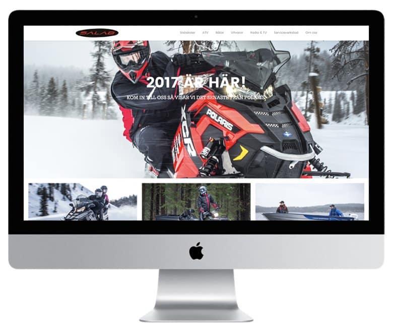 Gör som Svedab i Sveg anlita Mediamakarna Grip att bygga er hemsida. Vi bygger med WordPress.