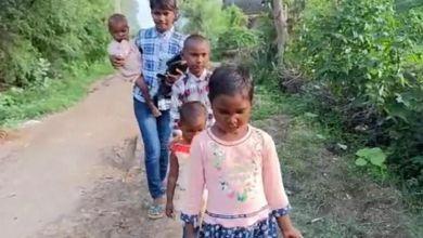 Photo of കോവിഡ് അനാഥരാക്കി; ഏഴ് മാസം മുതല് പത്ത് വയസു വരെ പ്രായമുള്ള സഹോദരങ്ങള് പിച്ചച്ചട്ടിയുമായി തെരുവില്