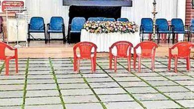 Photo of പരിപാടി തുടങ്ങും മുൻപേ കസേര എടുത്തു മാറ്റി ജീവനക്കാർ; കേള്ക്കാന് ആളില്ലാതെ മുഖ്യമന്ത്രിയുടെ 'ലൈവ്' പ്രസംഗം; വിവാദത്തിലായി സിപിഎം