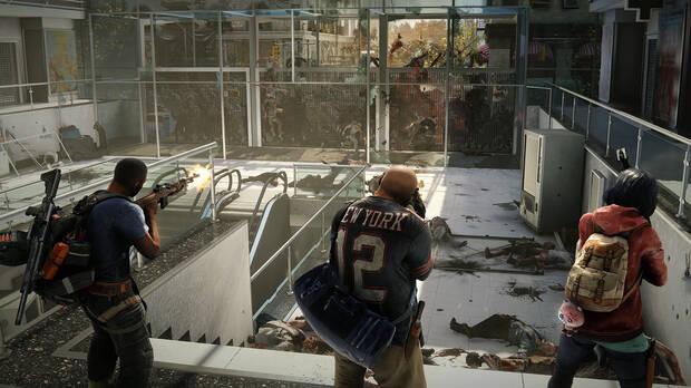 Los supervivientes en Nueva York quieren escapar de la ciudad. Calles, edificios y metro están infestados de zombis.