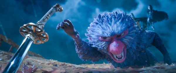 Monkey (voiced by Academy Award winner Charlize Theron) finds herself in a fierce battle to protect Kubo in animation studio LAIKA's epic action-adventure KUBO AND THE TWO STRINGS, a Focus Features release. Credit: Laika Studios/Focus Features