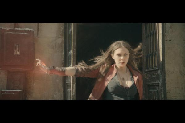 Elizabeth Olsen as Scarlet Witch in Avengers: Age of Ultron / Marvel / Disney