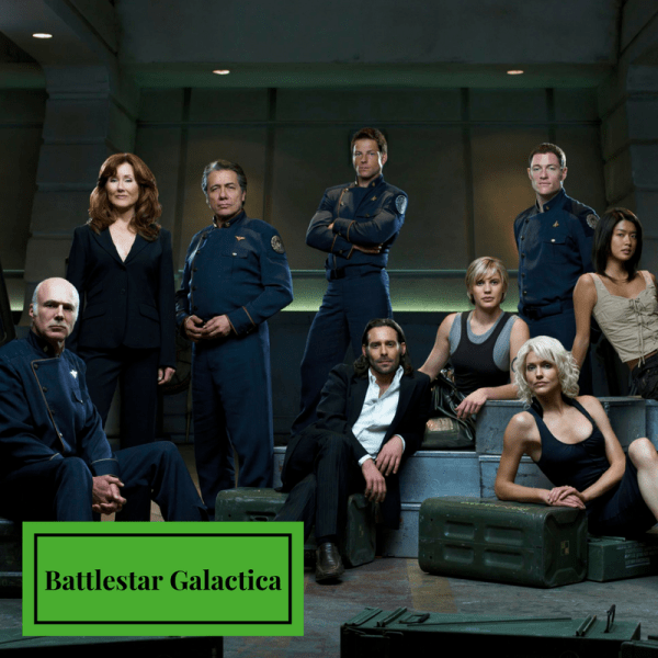 Battlestar Galactica Like Game of Thrones