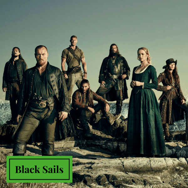 Black Sails Like Game of Thrones