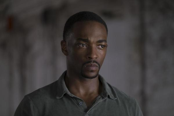 Anthony Mackie as Sam Wilson in 'Captain America: Civil War'