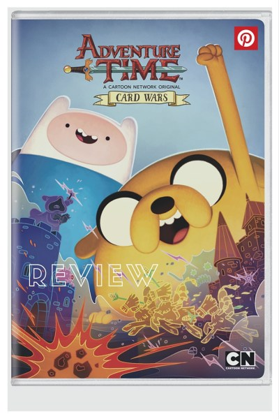 Adventure Time Card Wars DVD Review