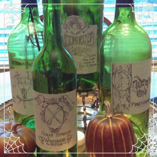 Harry Potter Potion Labels