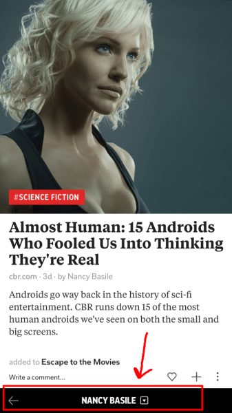 Androids article