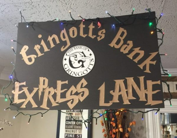 Gringotts Bank Sign